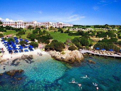 Hotely na Sardínii