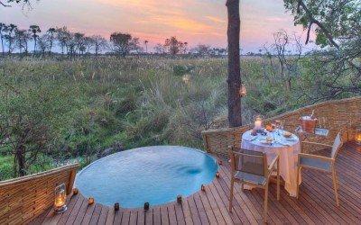 Hotely v Botswaně