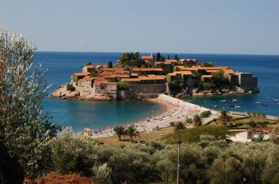 Hotely v Černé Hoře