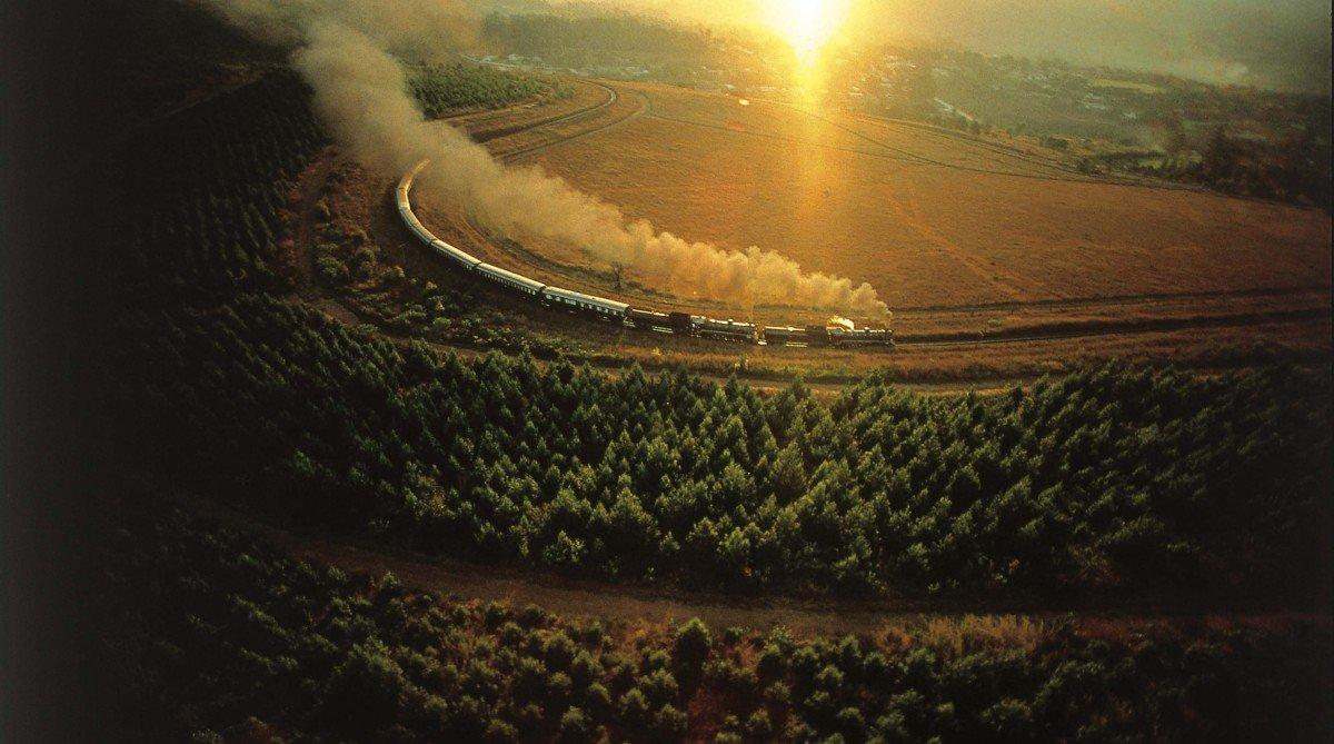 Luxusním vlakem napříč Afrikou