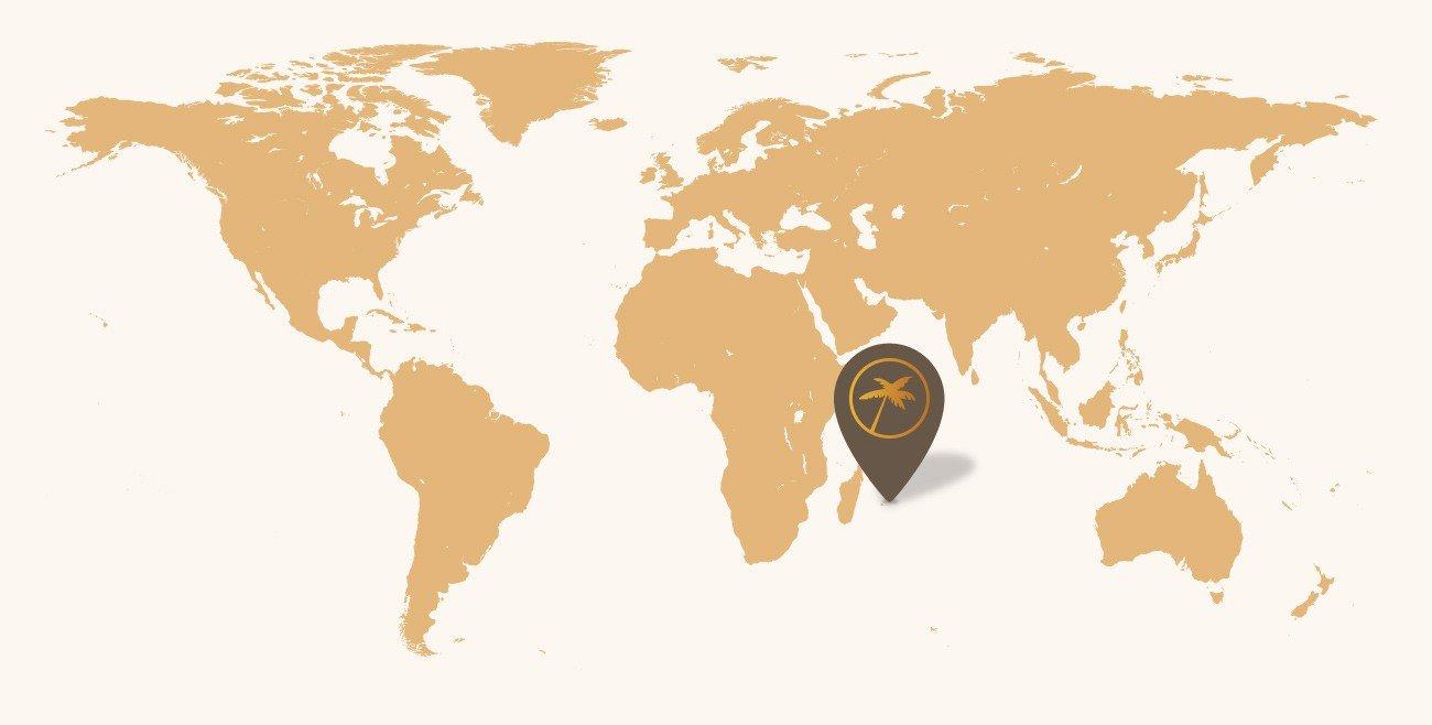 Mapa Maurícius