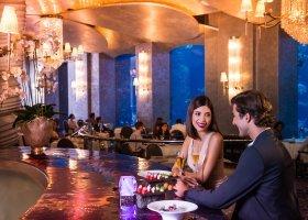 restaurace Ossiano s výhledem na lagunu