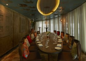 salónek restaurace Khyber