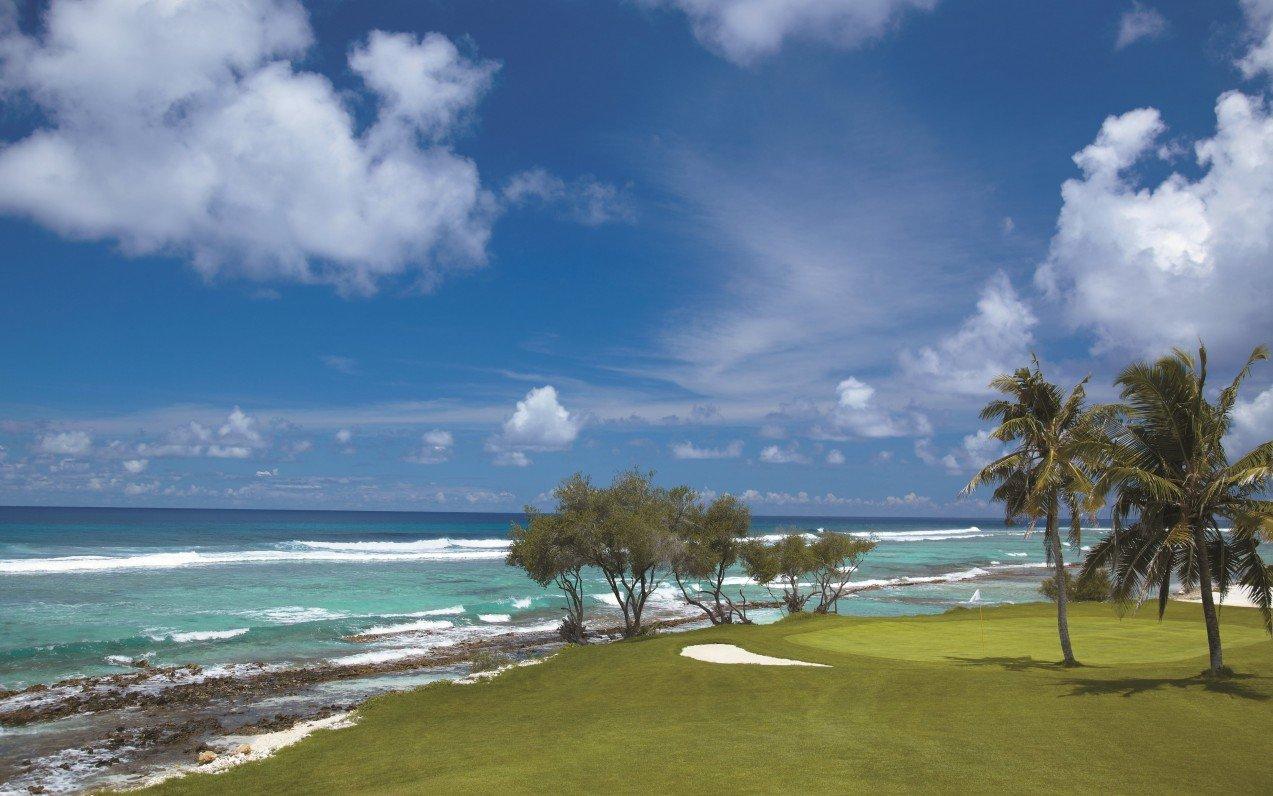 The Villingili Golf Course