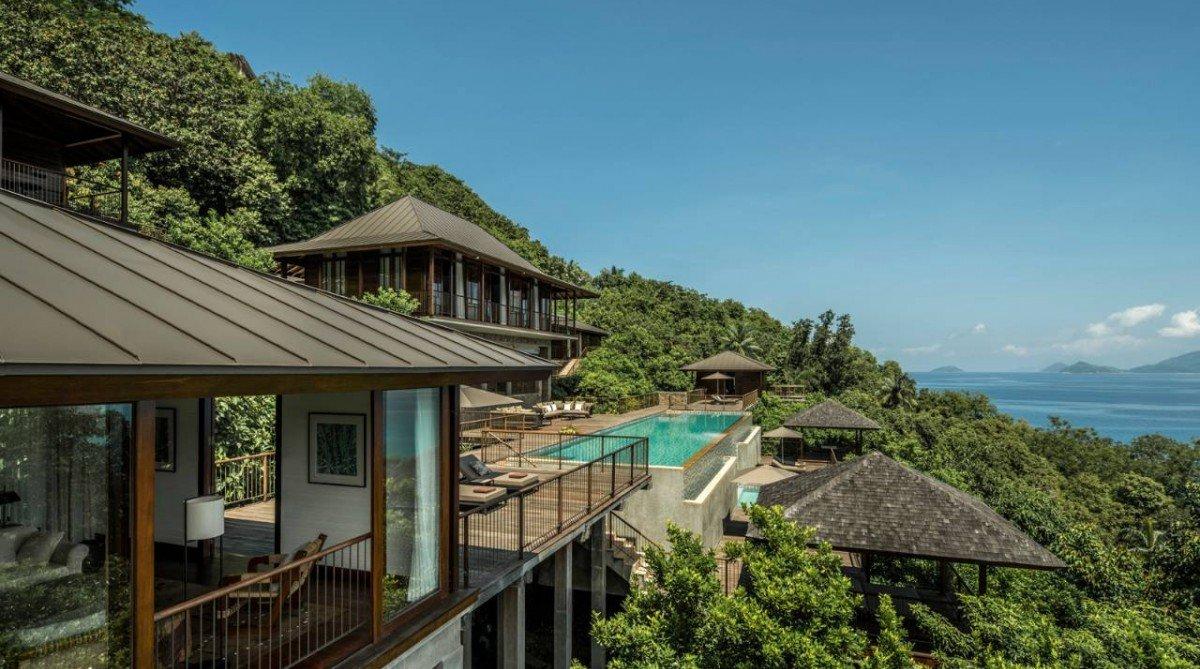 """Four Seasons Seychelles Mahe <span class=""""beutystar"""">*****</span>"""