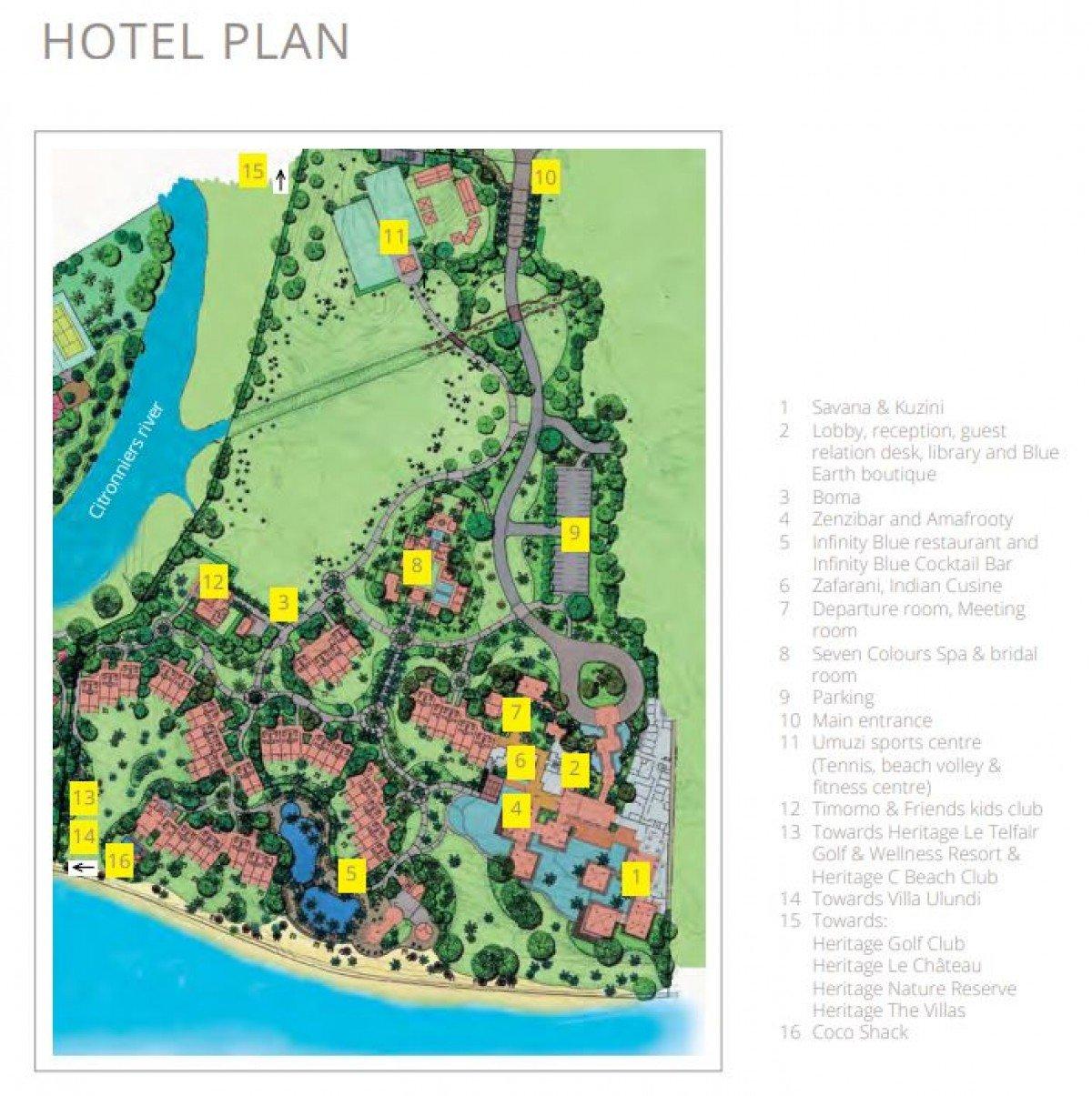 Plánik hotela