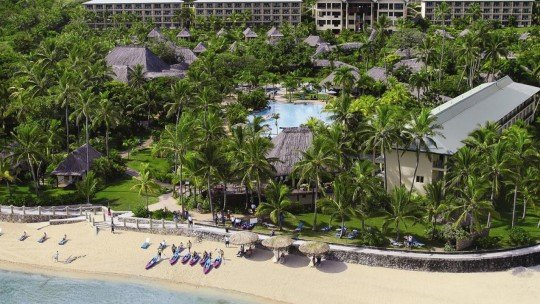 Outrigger on the Lagoon Fiji *****