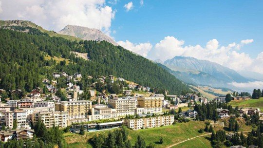 Kulm Hotel St. Moritz *****