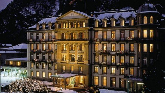 Lindner Grand Hotel Beau Rivage Interlaken *****