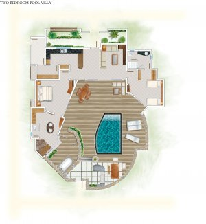 Two - Bedroom Pool Villa