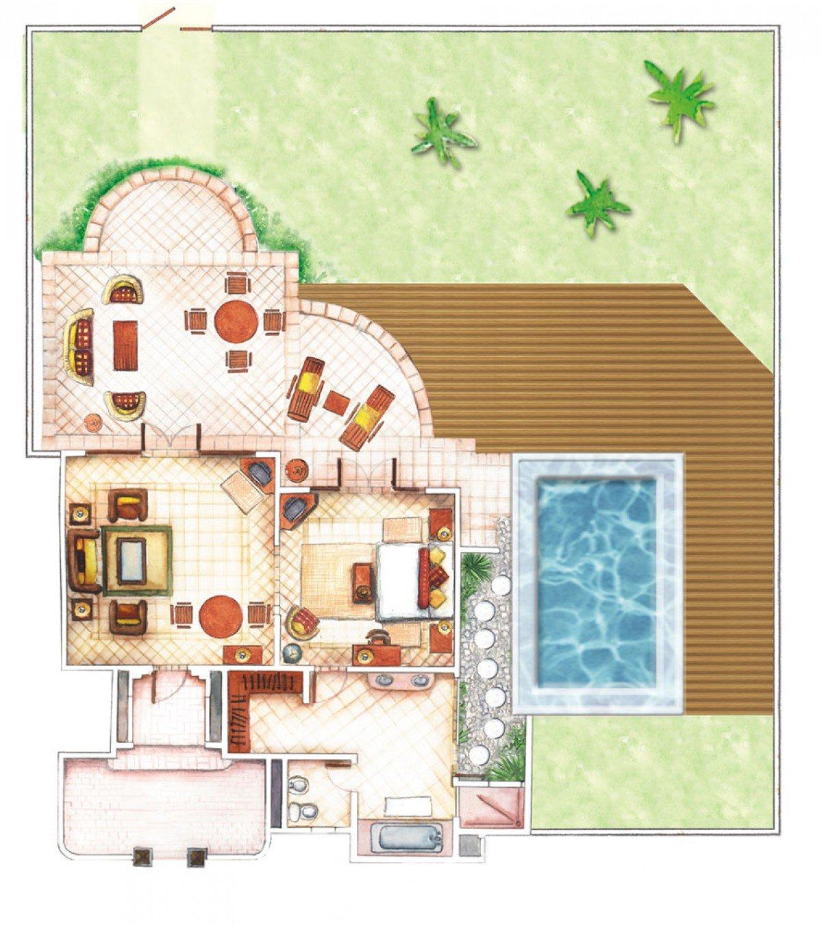 Beach Pool Villa (480 m²)