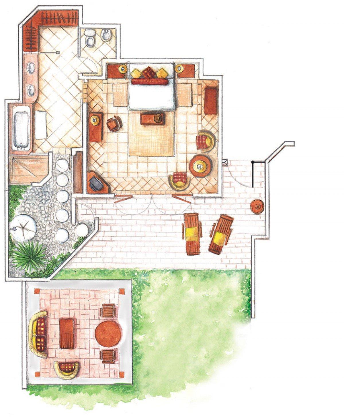 Tropical Villa (150 m²)
