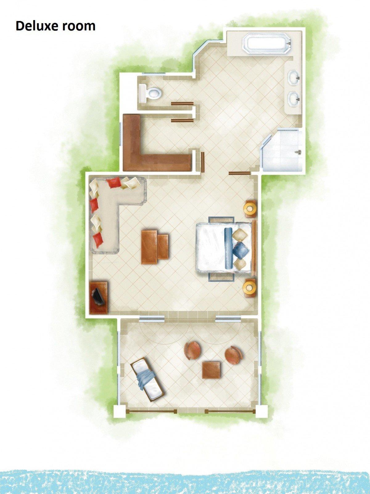 Deluxe Room (50 m²)