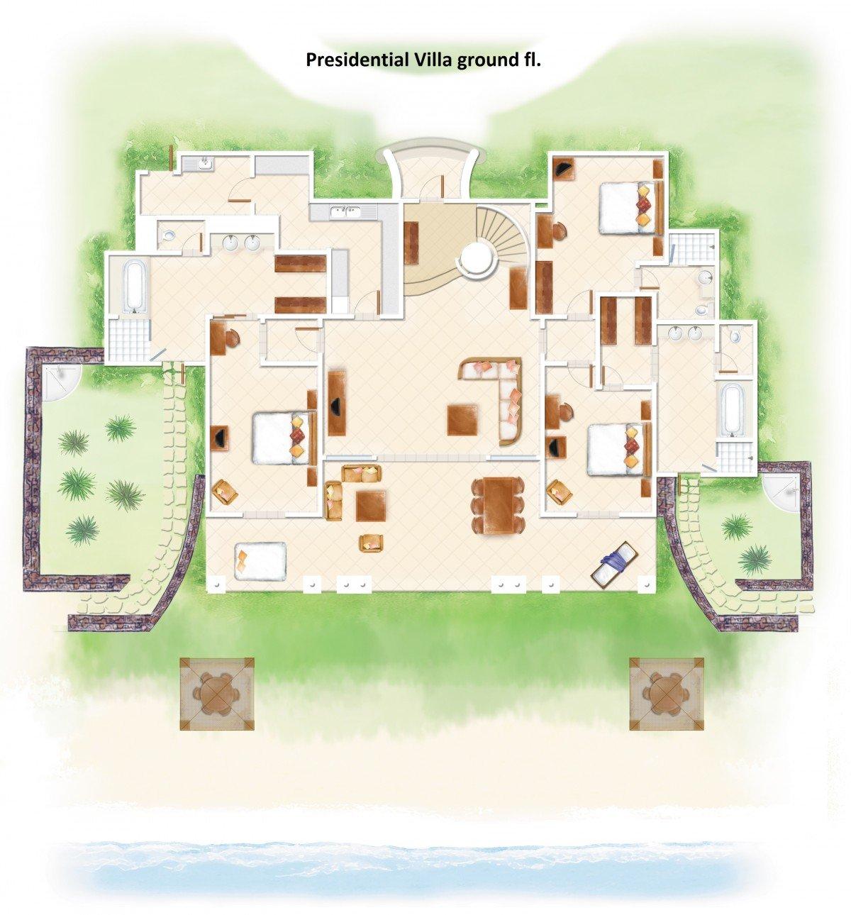Presidential Villa (450 m²)