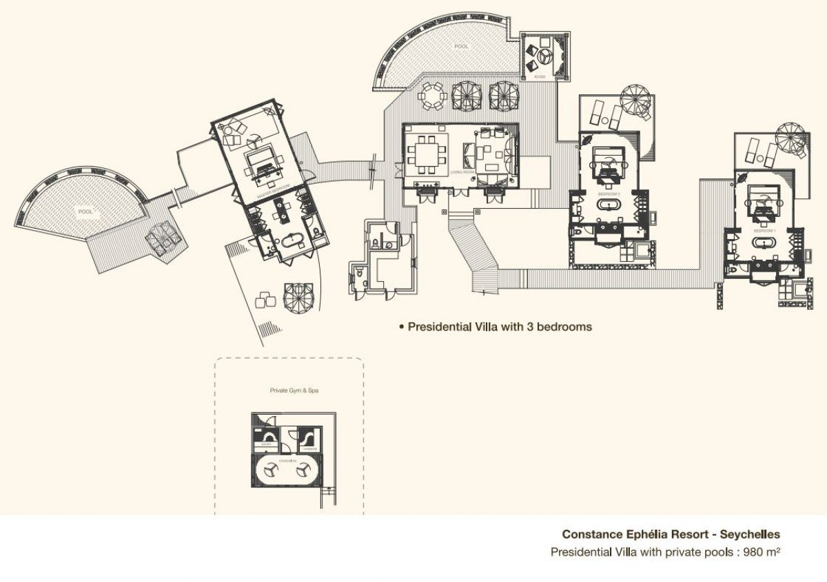 Presidential Villa - 3 bedrooms