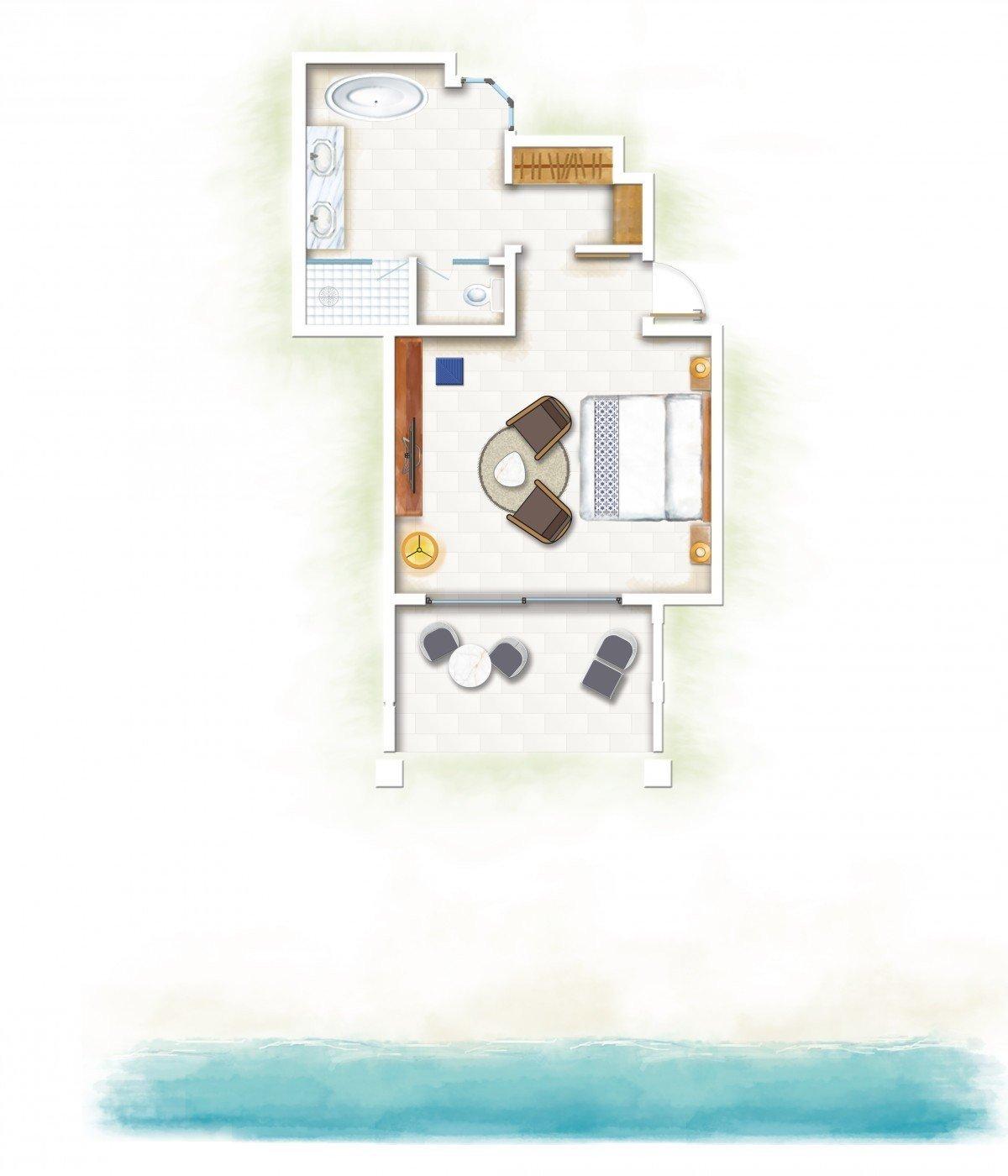 Ocean Beachfront Suite - Family *