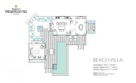Beach Villa with Private Pool (189 m²)
