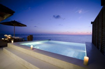 Sunset Water Suite with jacuzzi