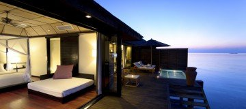 Deluxe Water Villa with jacuzzi