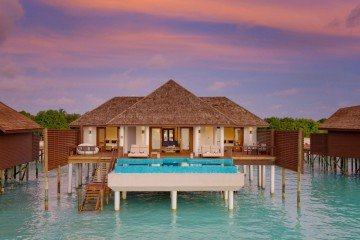 Two-Bedroom Ocean Villa With Pool