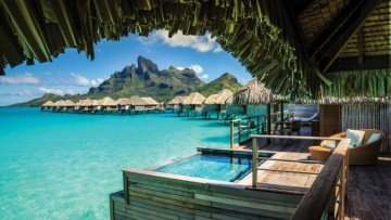 Herenui Two-Bedroom Overwater Bungalow Suite with Plunge Pool