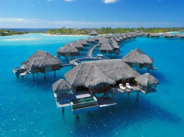 Otemanu Over-Water Bungalow with Pool