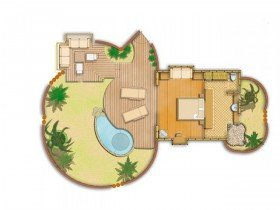 Garden Pool Bungalows (81 m²)
