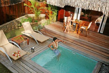 Premium Garden Pool Bungalows