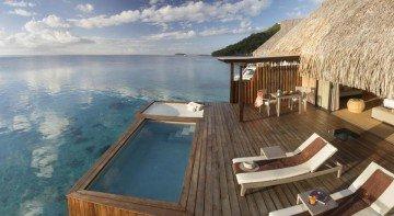 King Pool Overwater Villa