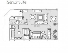 Senior Suite Sea View (100 m²)