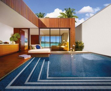 Beach Villa with Pool and Retreat Rooms