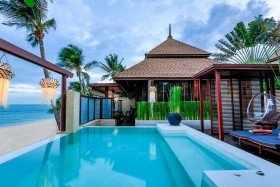 Beach Front Grand Pool Villa