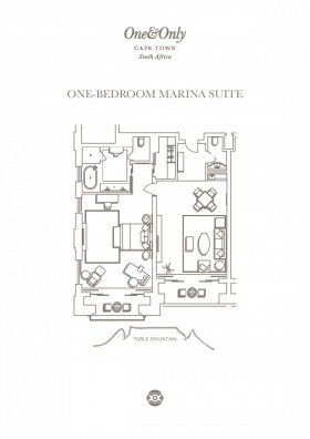 One Bedroom Marina Suite (123 m2)