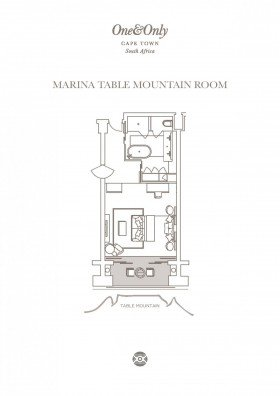 Marina Table Mountain Room (63 m2)