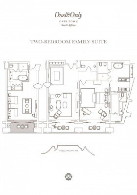 Two Bedroom Family Suite (218 m2)