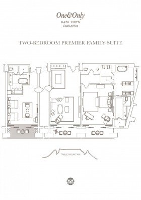 Two Bedroom Premier Family Suite (218 m2)