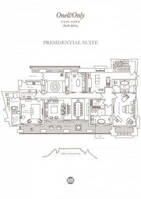 Presidential Suite (383 m2)