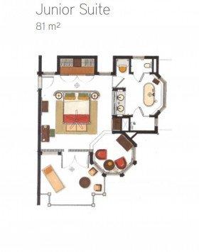 Junior Suite Garden View (81 m²)