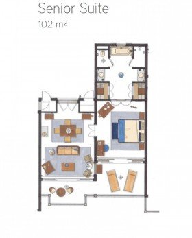 Senior Suite Seaview (102 m²)