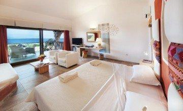 Senior Suite Family Sea View (86 m² + 26 m² veranda) – Hotel Licciola