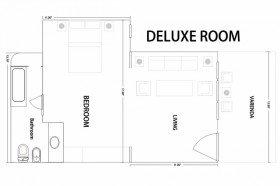 Deluxe Rooms (58 m2)