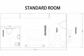 Standard Rooms (37 m2)