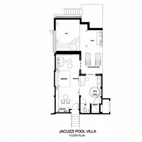 Jacuzzi Pool Villa (89 m2)