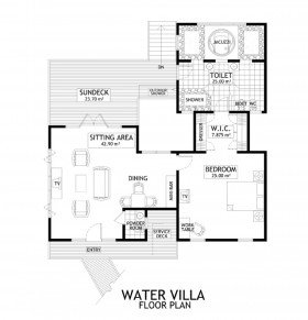 Water Villas (116 m2)