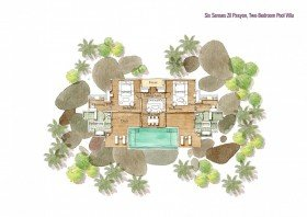 Two Bedroom Pool Villa (440 m²)