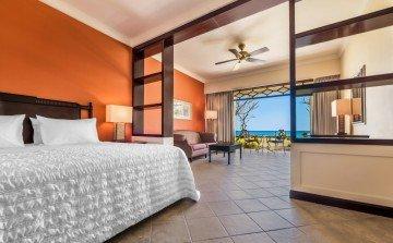 Deluxe Garden Ocean View Room