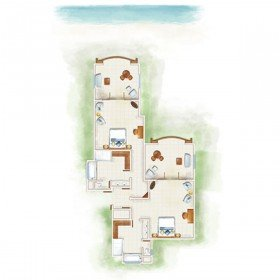 Tropical Family Suite (152 m²)