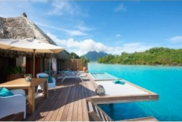 Royal Pool Overwater Villa