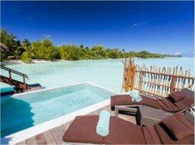 Overwater Villa s bazénem
