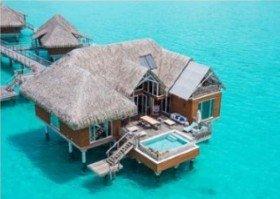 Prestige Overwater Brando Suite s bazénem (2 ložnice)